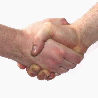 hand shake umih08