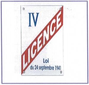 affiche licence iv