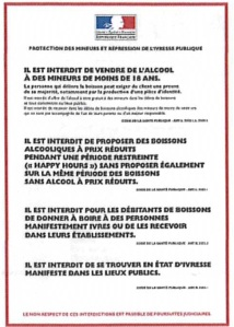 affiche protection mineurs